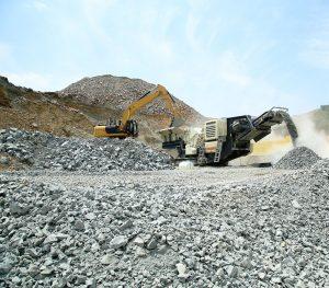 aggregate crushing
