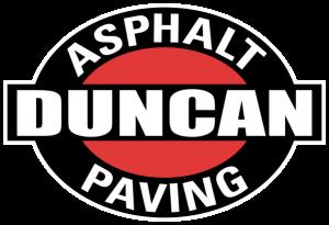 Duncan Paving logo