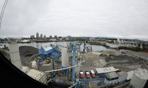 Island Paving's Victoria asphalt plant
